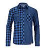 Ortovox Double Check Camicia a maniche lunghe, Blue Ocean