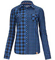 Ortovox Double Check - Bluse Trekking - Damen, Blue