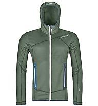 Ortovox Fleece Hoody - giacca in pile - uomo, Green
