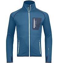 Ortovox Merino Fleece - Fleecejacke Skitouren - Herren, Blue