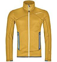Ortovox Fleece - giacca in pile - uomo, Yellow