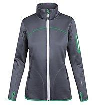 Ortovox Fleece - Fleecejacke Trekking - Damen, Grey/Green