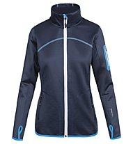 Ortovox Fleece - Fleecejacke Trekking - Damen, Blue/Light Blue
