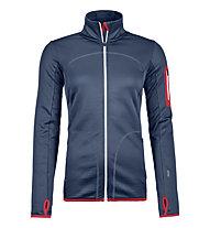 Ortovox Fleece Jkt - giacca in pile - donna, Blue
