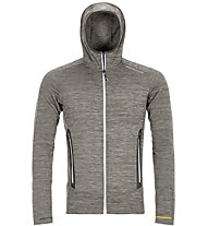 Ortovox Fleece Light Melange Hoody - giacca in pile con cappuccio - uomo, Grey