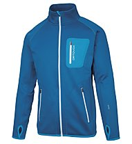 Ortovox Merino Fleece - Fleecejacke Skitouren - Herren, Light Blue