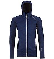 Ortovox Fleece Space Dyed - Fleecejacke mit Kapuze - Damen, Dark Blue