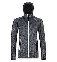 Ortovox Fleece Space Dyed - Fleecejacke mit Kapuze - Damen, Grey