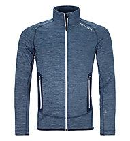 Ortovox Fleece Space Dyed - felpa in pile - uomo, Blue