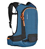 Ortovox Free Rider 18 - zaino freeride, Blue/Orange