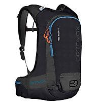 Ortovox Free Rider 18 - zaino freeride, Black/Blue