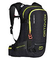 Ortovox Free Rider 26 - zaino freeride, Black/Yellow