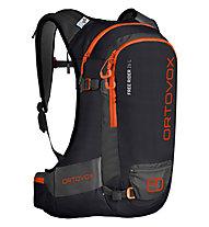 Ortovox Free Rider 26 - zaino freeride, Black/Orange