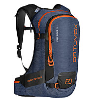 Ortovox Free Rider 26 - zaino freeride, Blue/Orange