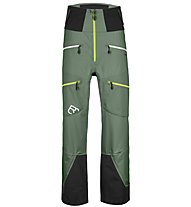 Ortovox Guardian Shell - pantaloni sci alpinismo - uomo, Dark Green