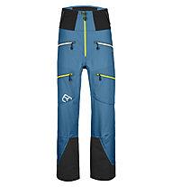 Ortovox Guardian Shell - pantaloni sci alpinismo - uomo, Blue