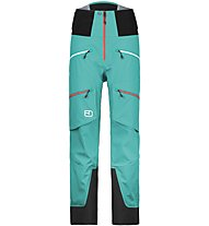 Ortovox Guardian Shell Pants Damen Hardshellhose, Green