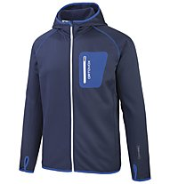 Ortovox Hoody Men SP Herren Merino-Fleecejacke, Blue