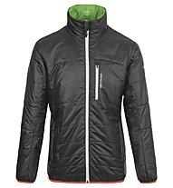 Ortovox Piz Boval - Giacca Alpinismo - uomo, Black/Green