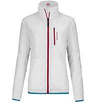 Ortovox Piz Bial Light Damen Winteracke wattiert mit Wolle zweiseitig tragbar, White