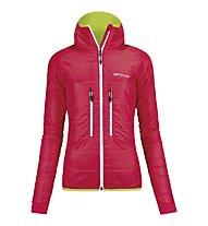 Ortovox Light Tec Lavarella - giacca con cappuccio trekking - donna, Very Berry