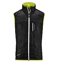 Ortovox Piz Cartas Light gilet da montagna, Black Steel