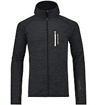 Ortovox Melange - Fleecejacke mit Kapuze Skitouren - Herren, Black