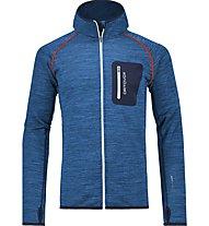Ortovox Melange - Giacca con cappuccio scialpinismo - uomo, Blue