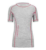 Ortovox Merino 185 T-Shirt donna, Grey Blend
