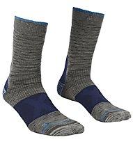 Ortovox Merino Alpinist Mid - Socken, Dark Grey/Blue