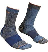 Ortovox Merino Alpinist Mid - Socken, Dark Blue/Dark Grey