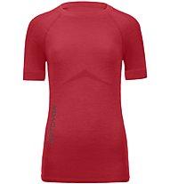 Ortovox Merino Competition - maglietta tecnica - donna, Red