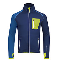 Ortovox Merino Fleece Jacke, Strong Blue