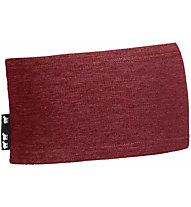 Ortovox Merino Light Fleece - fascia paraorecchie, Dark Red