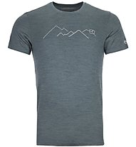 Ortovox Merino Mountain - T-Shirt Bergsport - Herren, Dark Green