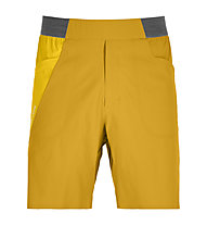 Ortovox Merino Shield Ultra Piz Selva Light - pantaloni corti trekking - uomo, Yellow
