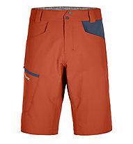 Ortovox Pelmo - pantaloni corti trekking - uomo, Orange