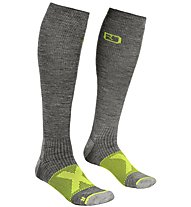 Ortovox Merino Tour Compression - Socken Skitour - Herren, Grey