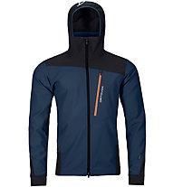 Ortovox Pala Jacket - Softshelljacke - Herren, Dark Blue/Black