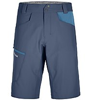 Ortovox Pelmo - pantaloni corti trekking - uomo, Blue