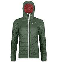 Ortovox Piz Bernina - giacca con cappuccio - donna, Green