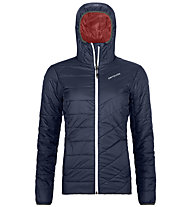 Ortovox Piz Bernina - wattierte Kapuzenjacke Bergsport - Damen, Dark Blue