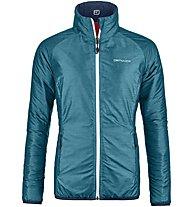 Ortovox Piz Bial - wendbare Bergsportjacke - Damen, Light Blue