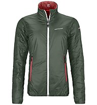 Ortovox Piz Bial - Isolationsjacke - Damen, Green/Red