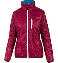 Ortovox Piz Bial - giacca sci alpinismo - donna, Red