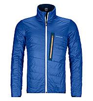 Ortovox Piz Boval - giacca sci alpinismo - uomo, Blue/Light Blue