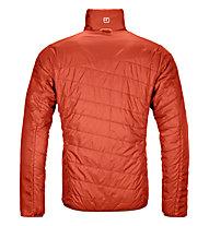 Ortovox Piz Boval - giacca sci alpinismo - uomo, Orange/Red