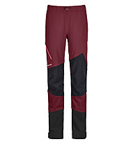 Ortovox Piz Duleda Pants - pantaloni sci alpinismo - donna, Red
