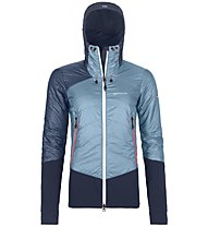 Ortovox Piz Palü - giacca ibrida sci alpinismo - donna, Light Blue