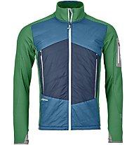 Ortovox Piz Roseg - giacca ibrida sci alpinismo - uomo, Green
